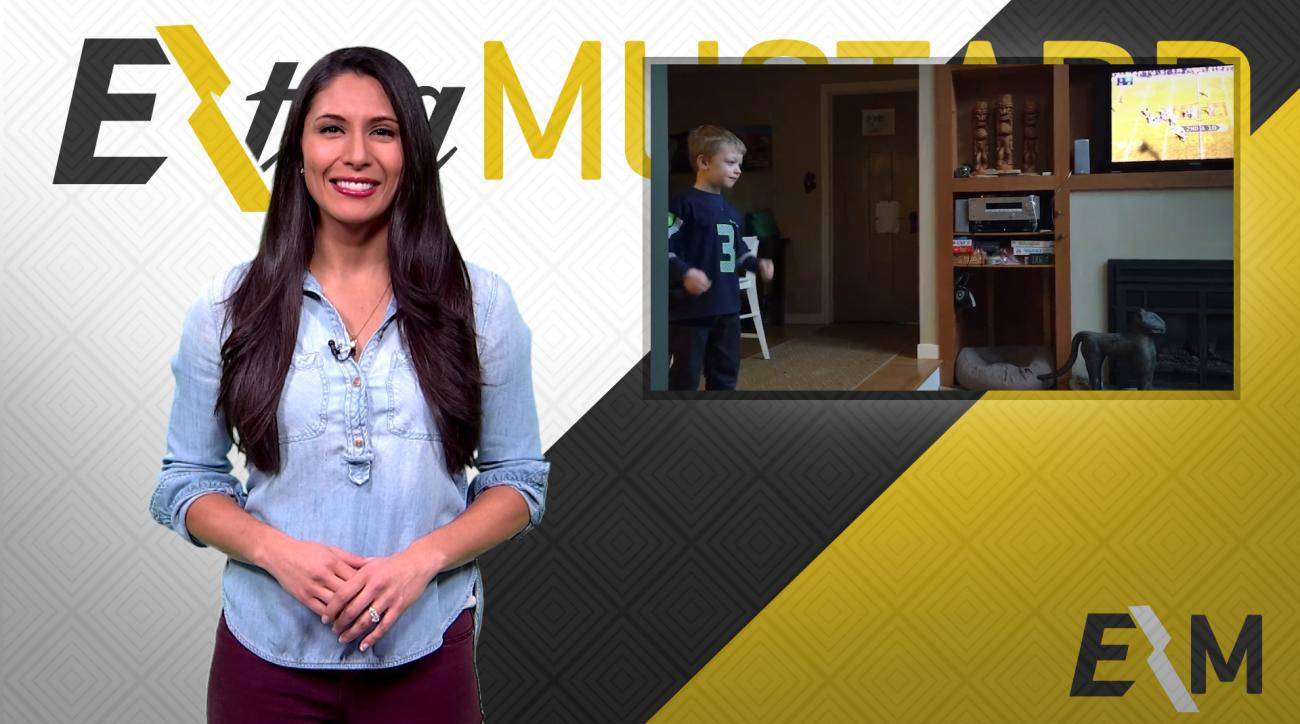 Mustard Minute: 5-year old pulls out tooth with football IMG