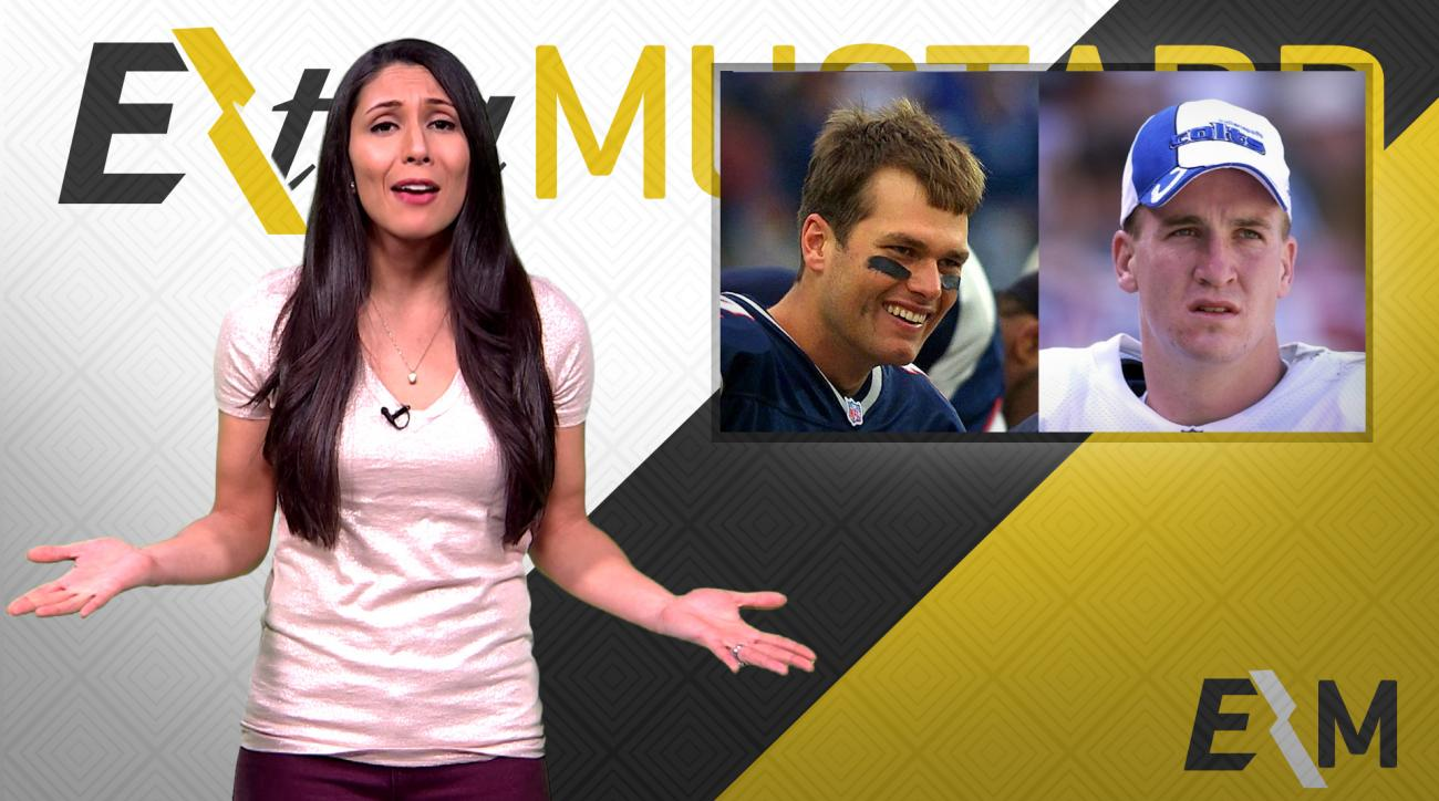 Mustard Minute: Looking back to 2001 pop culture, when Tom Brady first met Peyton Manning IMG