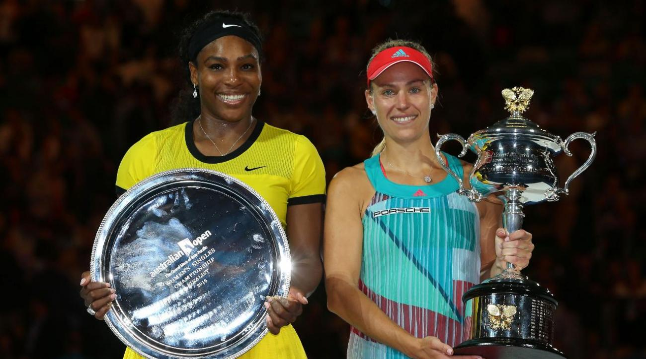 Angelique Kerber stuns Serena Williams to win 2016 Australian Open IMAGE