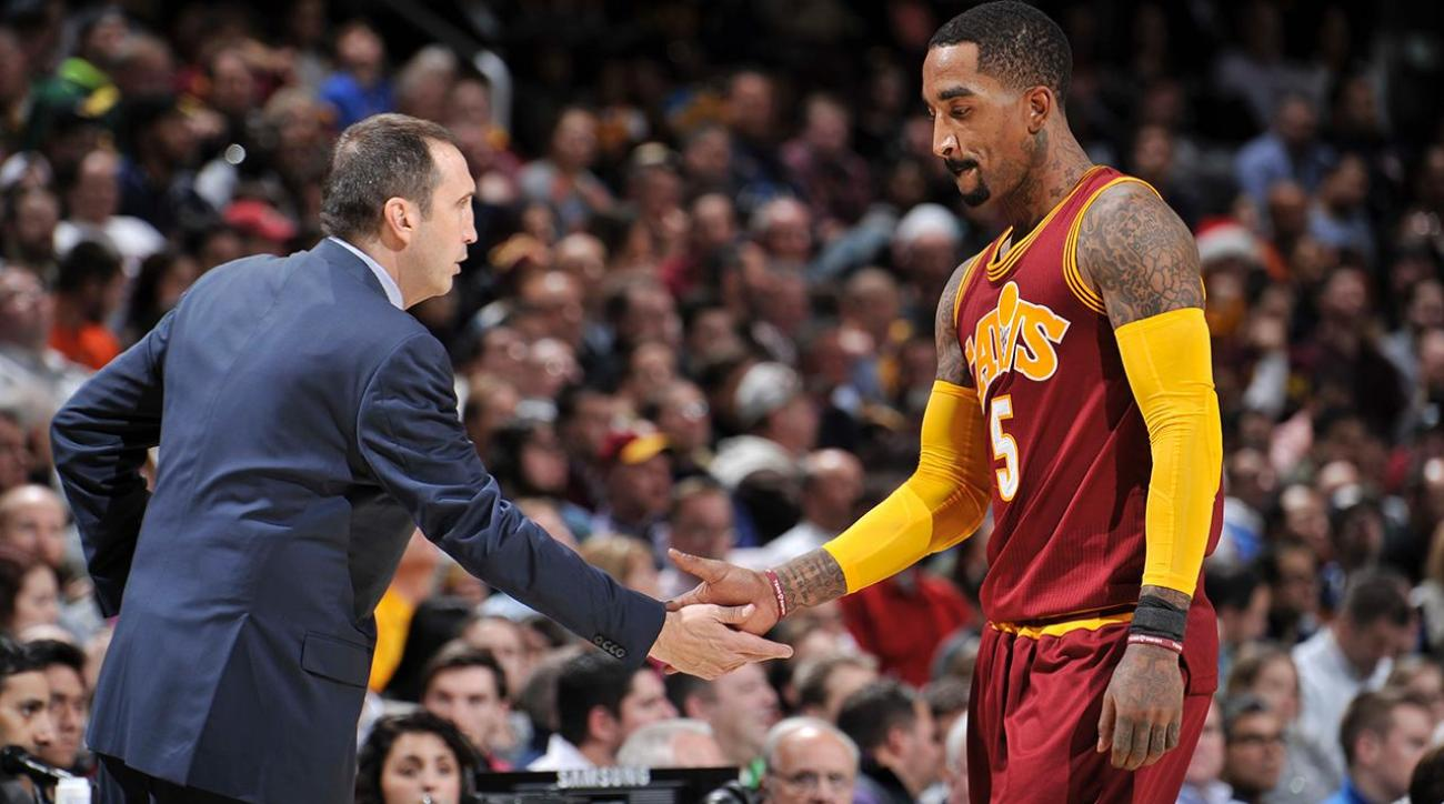 J.R. Smith on David Blatt's firing: Somebody will give him a shot