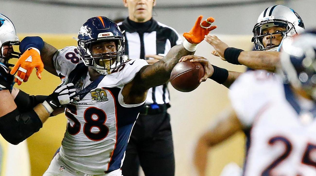 Von Miller and defense lead Broncos to Super Bowl 50 win
