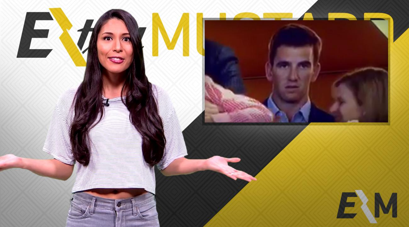 Mustard Minute: Eli Manning's face is your reaction to everything in life IMG