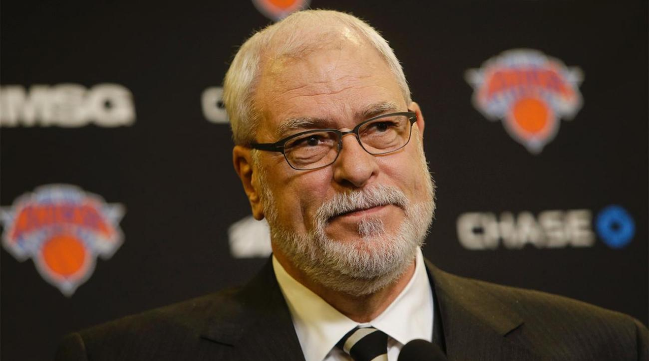 Report: 'Strong belief' Phil Jackson will leave Knicks, return to Lakers IMAGE