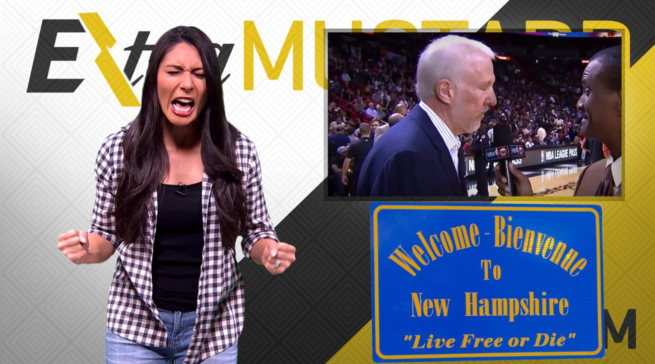 Mustard Minute: Gregg Popovich and Bernie Sanders bring politics and sports together IMG
