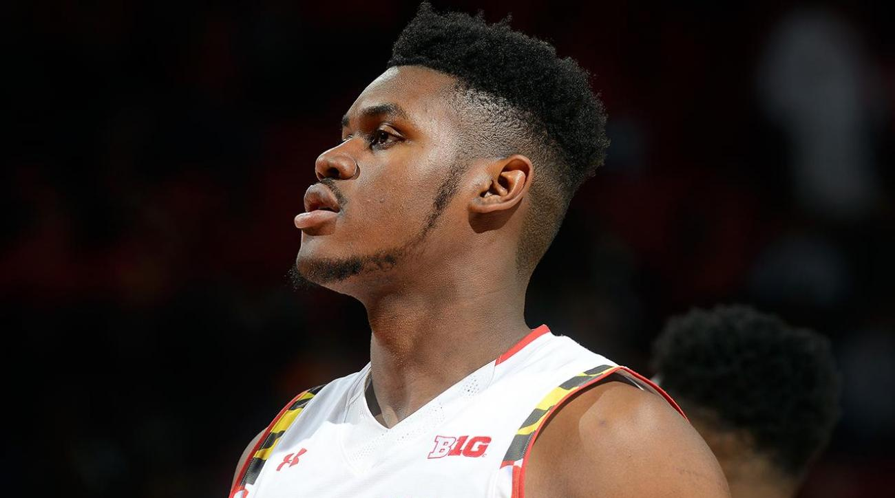 Maryland suspends Diamond Stone for shoving incident