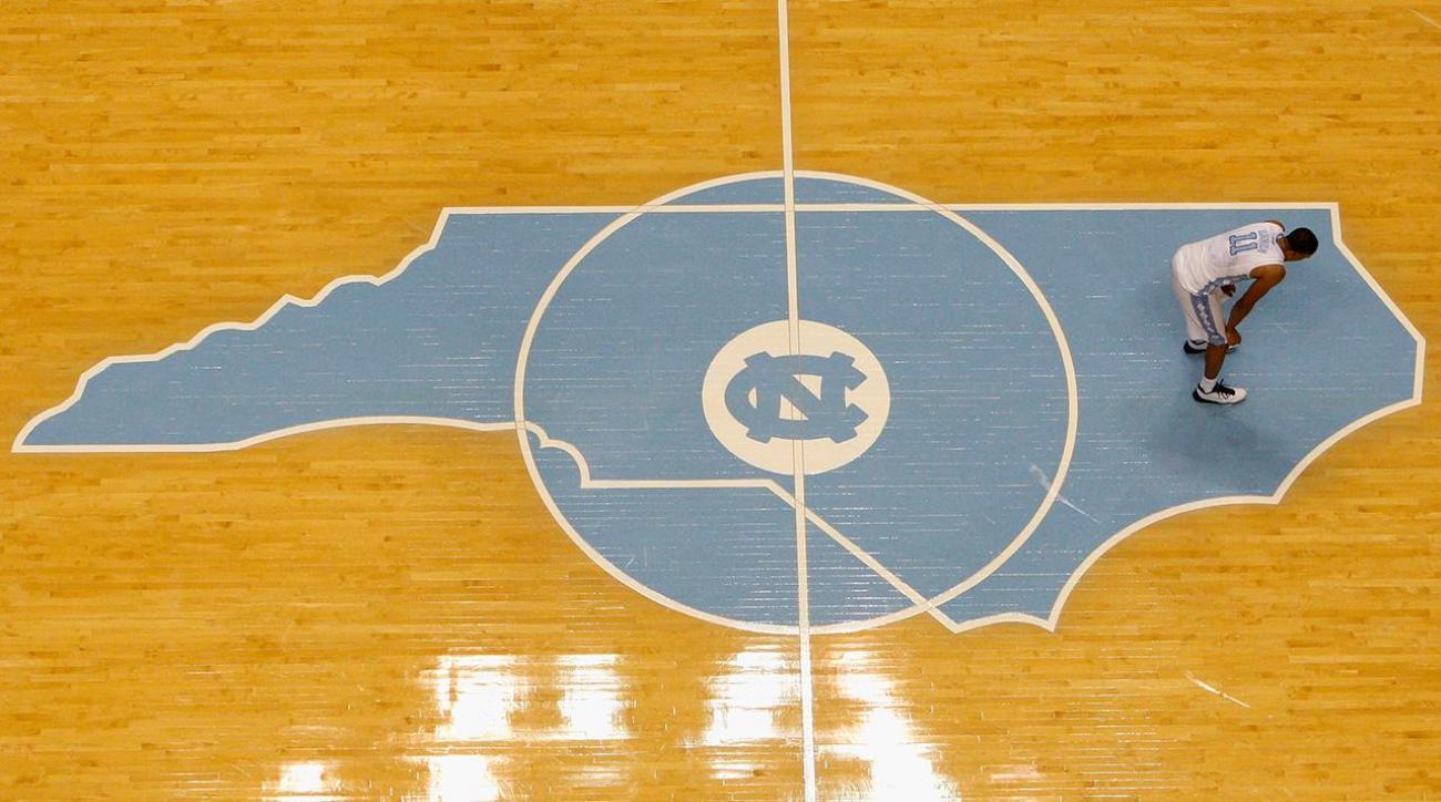 North Carolina's struggles fall on guard play IMG