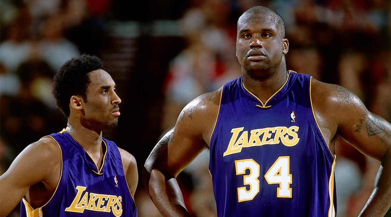 Kobe Bryant relished the chance to play without Shaq IMAGE