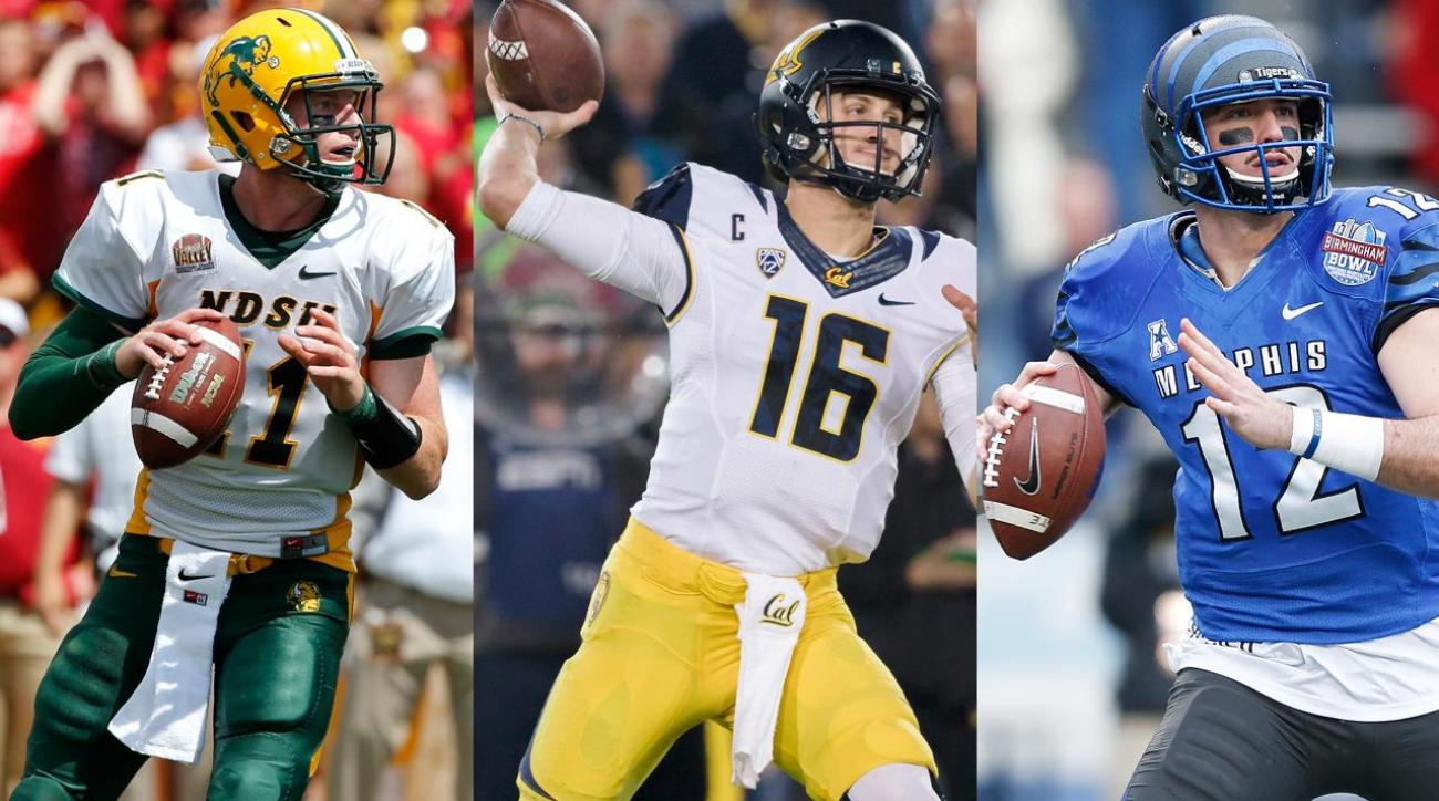 NFL combine to showcase Carson Wentz, Jared Goff and Paxton Lynch IMG