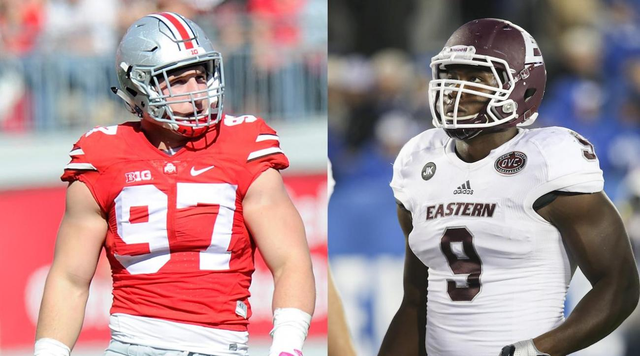 Who is the best pure pass rusher in the '16 NFL Draft?