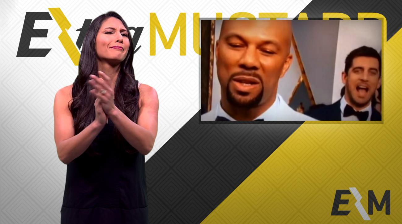 Mustard Minute: Aaron Rodgers deserves an Oscar for his photobomb IMG