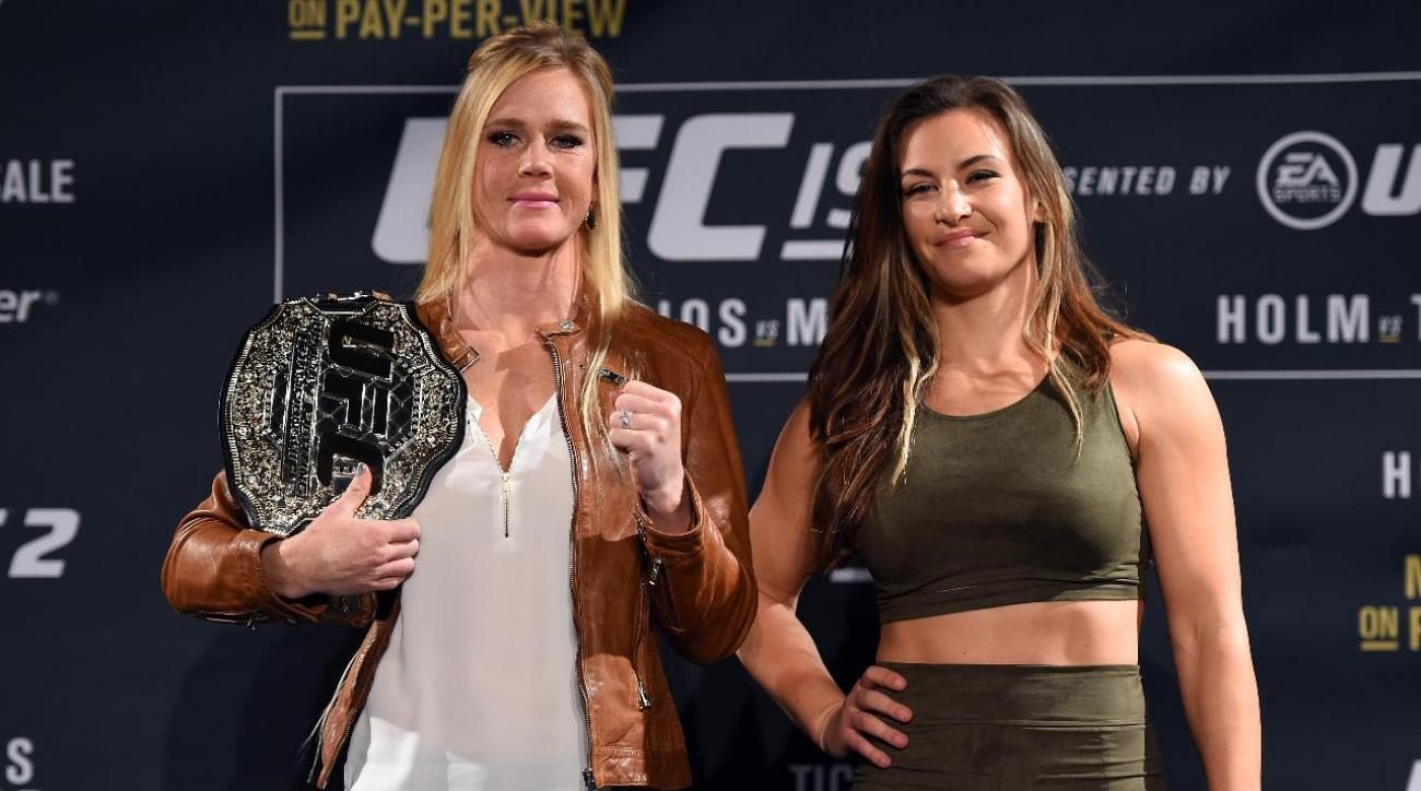 Miesha Tate wants to ruin Holly Holm-Ronda Rouse IMAGE