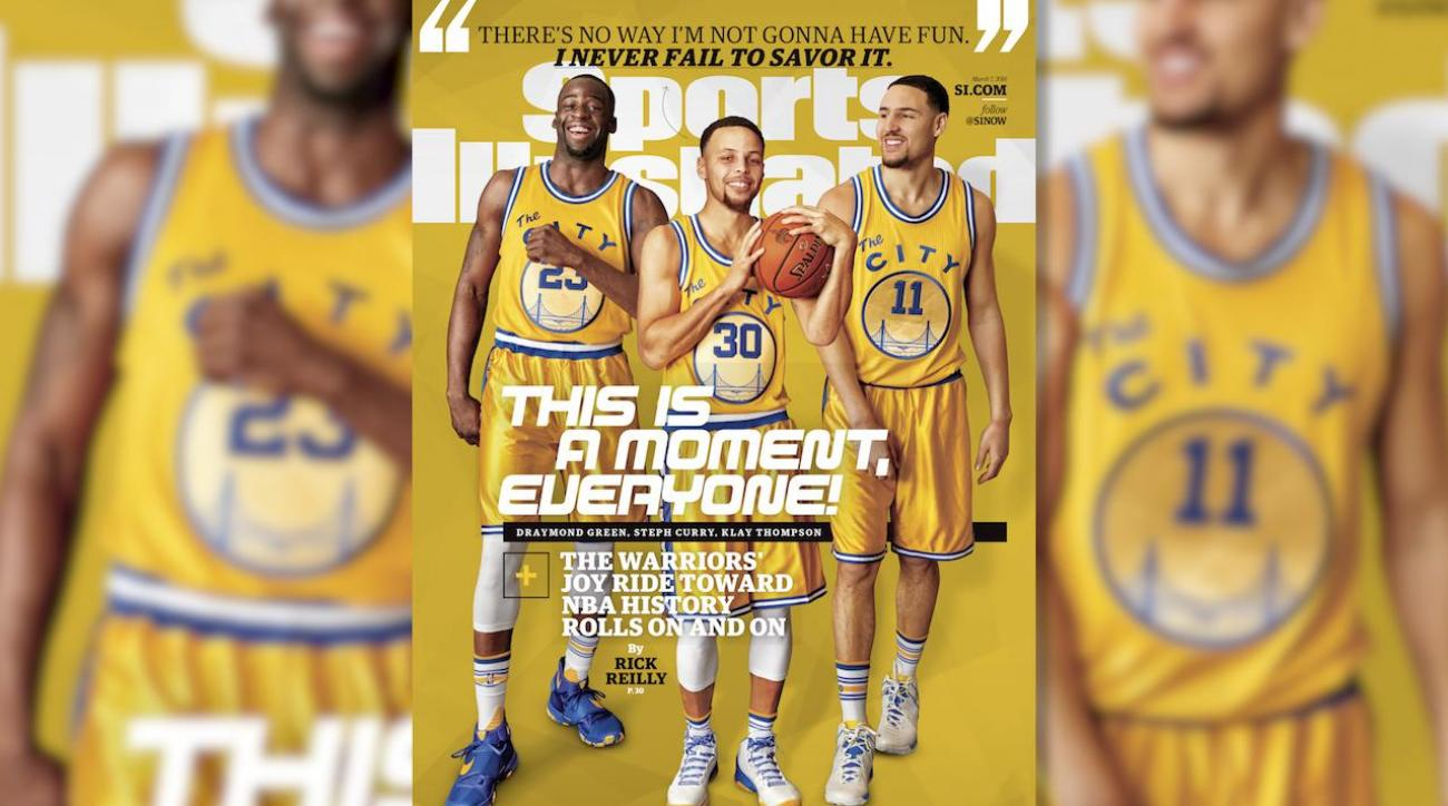 Behind the Shoot: Golden State Warriors cover shoot