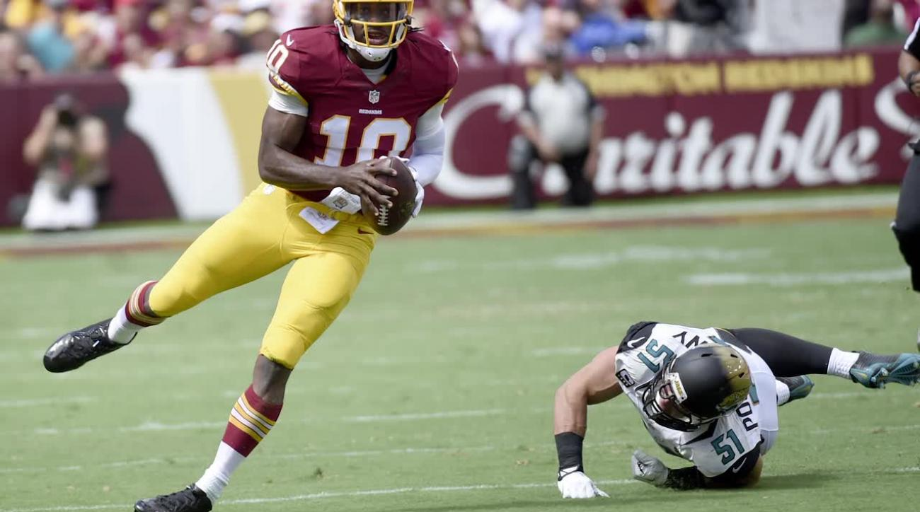 Redskins release Robert Griffin III