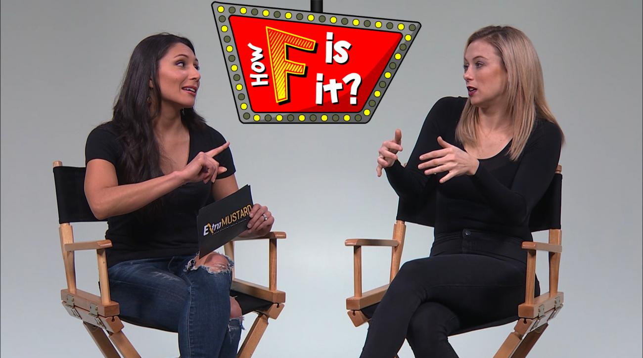 Mustard Minute: 'How F is it?' with comedian Iliza Shlesinger IMG