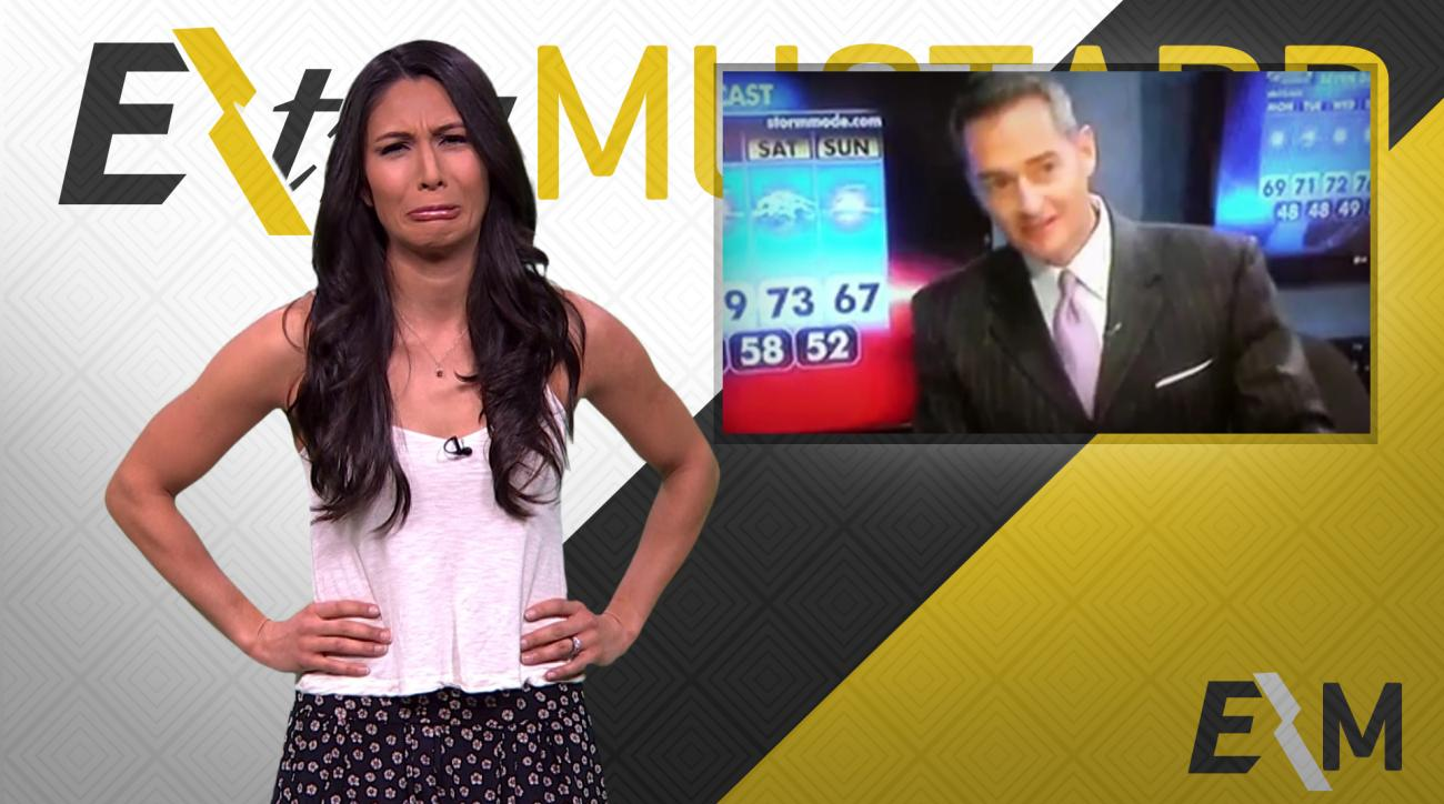 Mustard Minute: Local weatherman's terrible inappropriate joke fails IMG