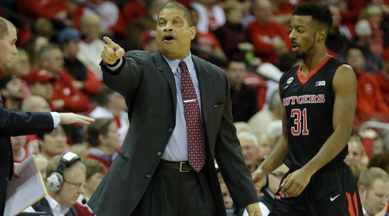 Rutgers fires men's basketball coach Eddie Jordan after three seasons
