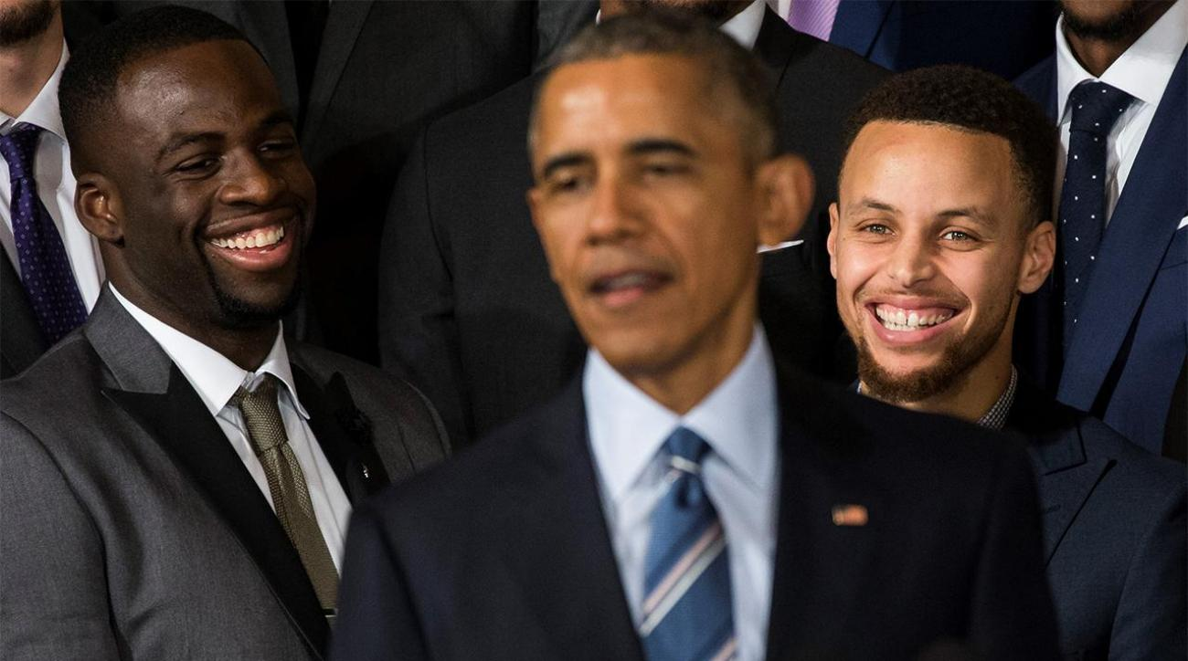 President Obama: Stephen Curry is the 'greatest shooter I've ever seen' IMAGE