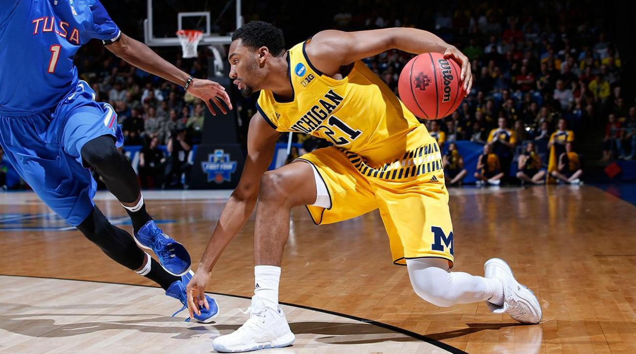 Michigan holds off Tulsa in last game of First Four