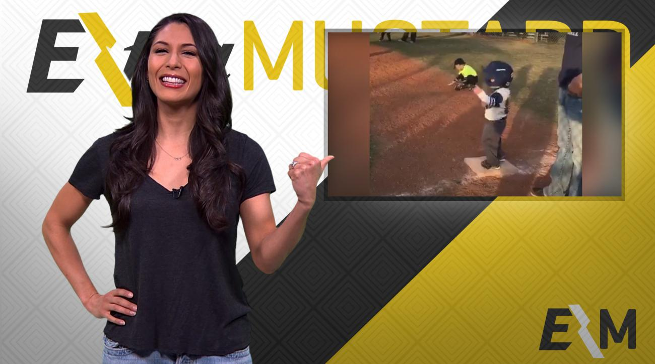 Mustard Minute: Tee-ball player's swagger exudes after bat flip, dance at first base IMG