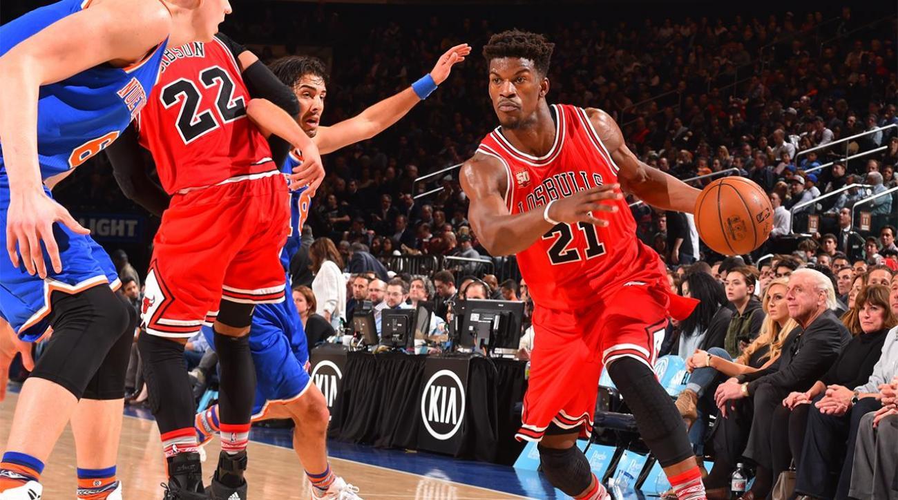Bulls' Jimmy Butler could undergo off-season knee surgery