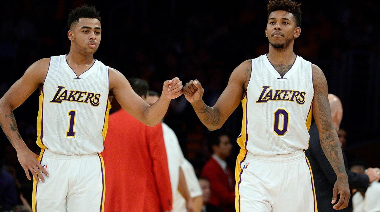 Report: Lakers angry at D'Angelo Russell over leaked Nick Young video