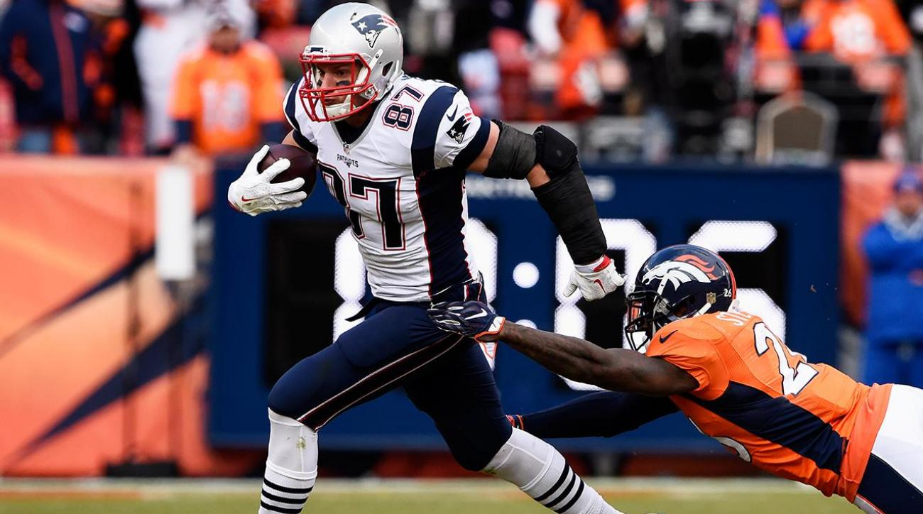 Rob Gronkowski Responds To Patriots Receivers Assemble Call From Tom Brady