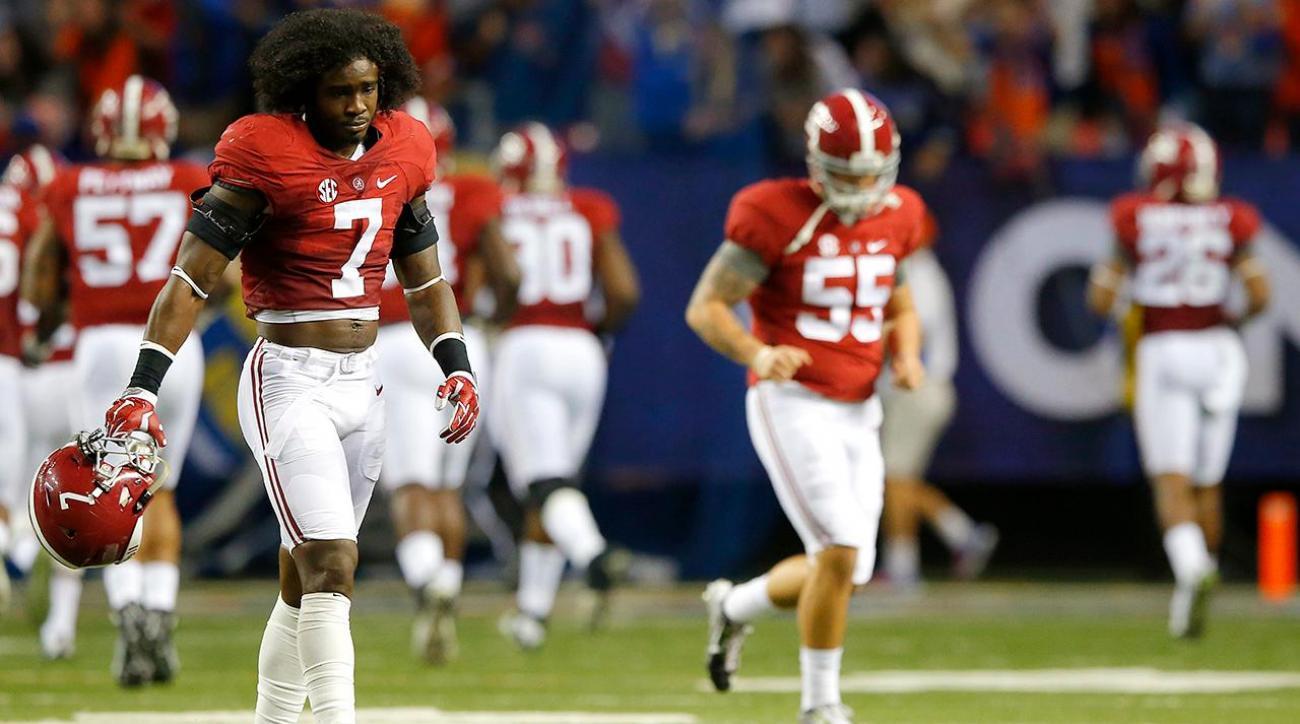 NCAA suspends Alabama DB Tony Brown Indefinitely