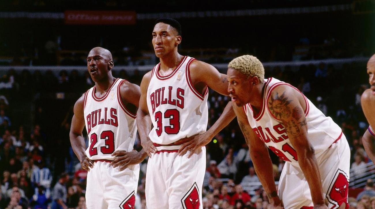 Scottie Pippen: 1995–96 Bulls would beat Warriors in head-to-head matchup IMAGE