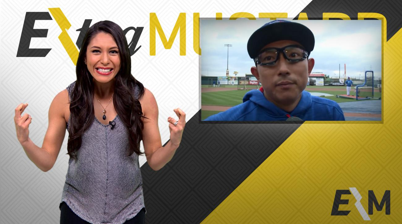 Mustard Minute: Munenori Kawaski will be your favorite MLB player after this IMG