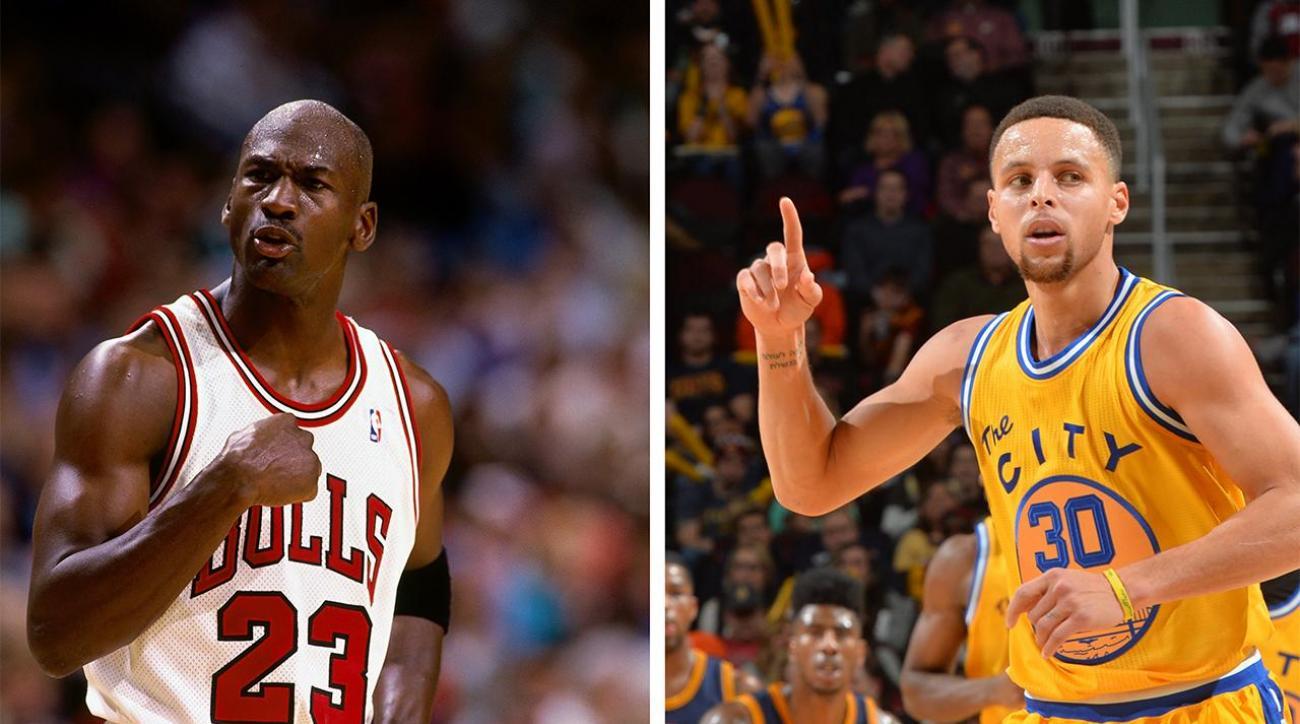 114875e1dba VIDEO - NBA  1995-96 Bulls vs. 2015-16 Warriors