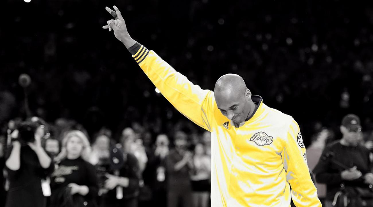Kobe Bryant scores 60 points in unbelievable farewell victory IMAGE