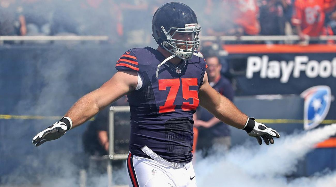 Bears exercise fifth-year option on OL Kyle Long
