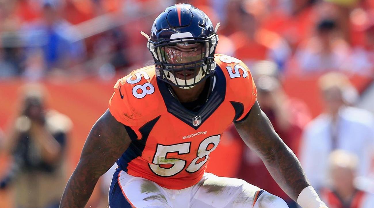 Von Miller, Broncos $4 million per year apart