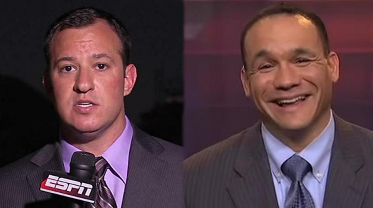 ESPN parts ways with college football analysts Joe Schad, Robert Smith