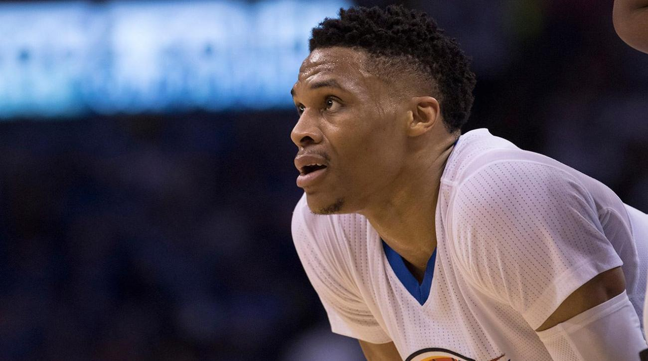 Did these Mavs players get into Russell Westbrook's head?   IMAGE