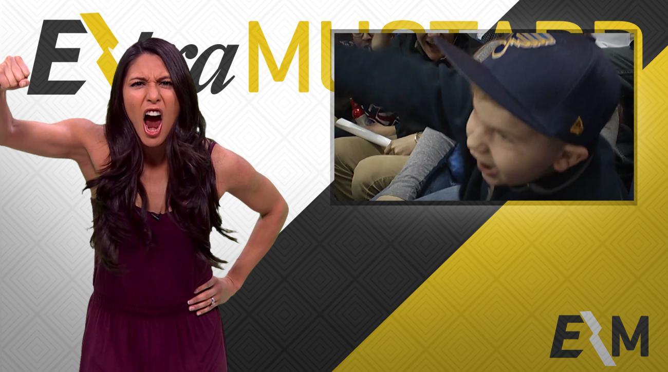Mustard Minute: This young St. Louis Blues fan will get you pumped for the NHL playoffs IMG