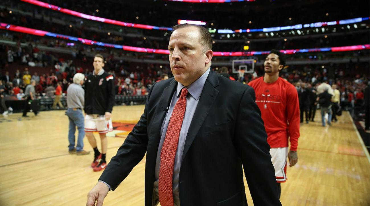 Report: Tom Thibodeau finalizing five-year deal to become Timberwolves president, coach