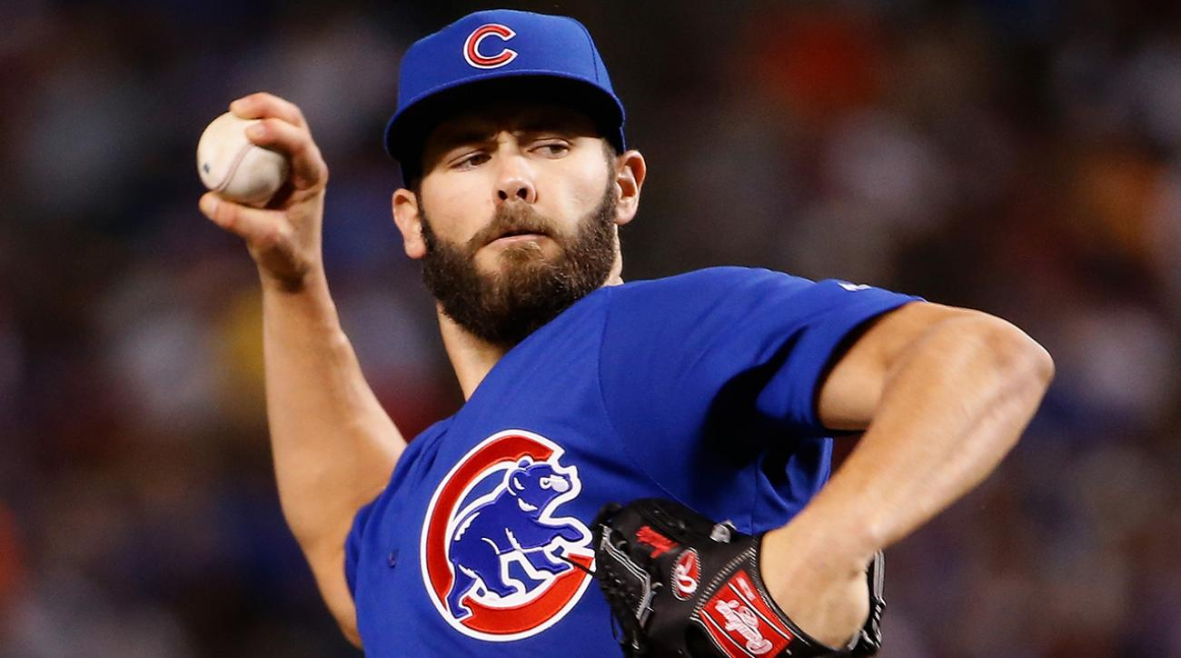 Cubs P Jake Arrieta throws no-hitter vs. Reds IMAGE