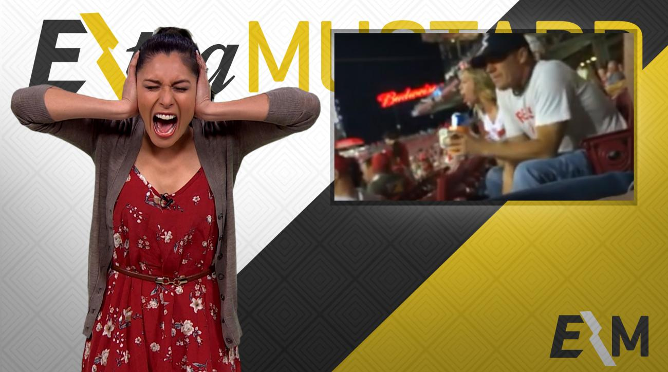 Mustard Minute: Don't get stuck sitting next to Joey Votto's biggest fan IMG