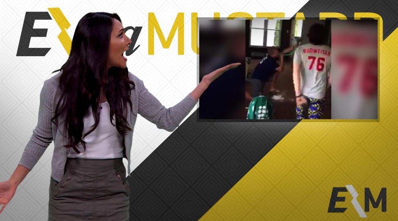 Mustard Minute: College kids create interesting way to drink a beer IMG
