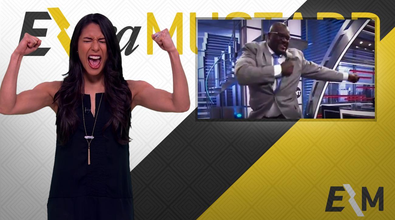 Mustard Minute: Shaq dances 'Gorilla Dab' to children's music IMG