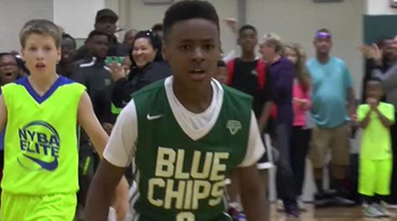 43fd0a9e5b1f VIDEO - Meet 11-year old LeBron James Jr.