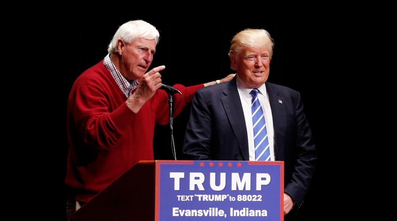 Donald Trump misspells Bobby Knight's name