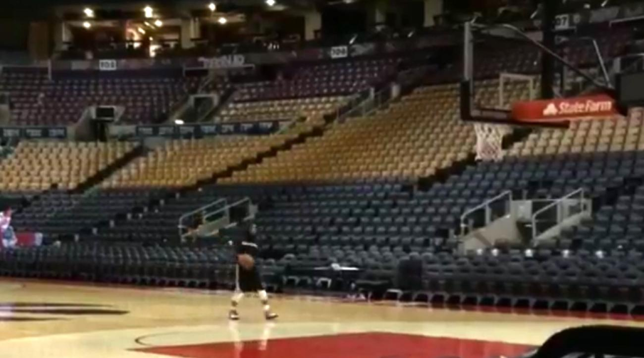 Mustard Minute: Sad Kyle Lowry practiced shooting till 1am after Raptors-Heat Game 1 IMG