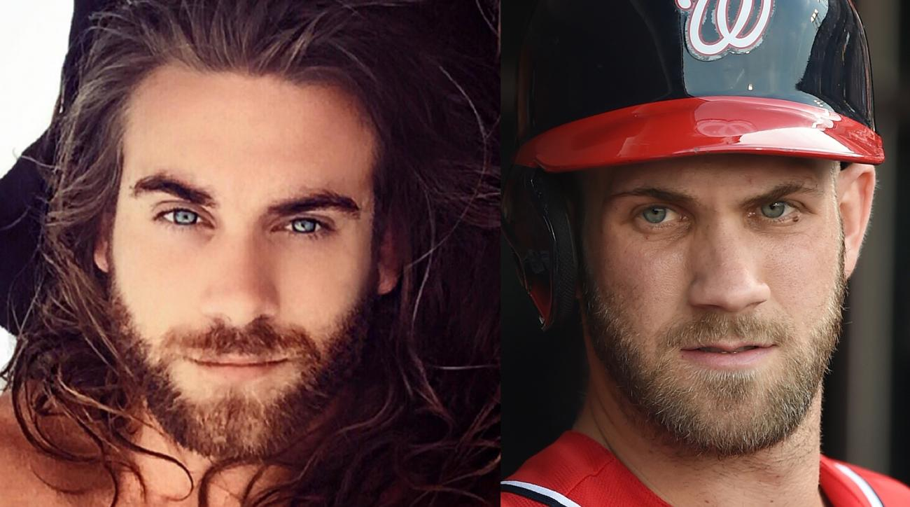 Mustard Minute: Bryce Harper's doppelganger exists, and he isn't the guy from the Nationals-Tigers game IMG