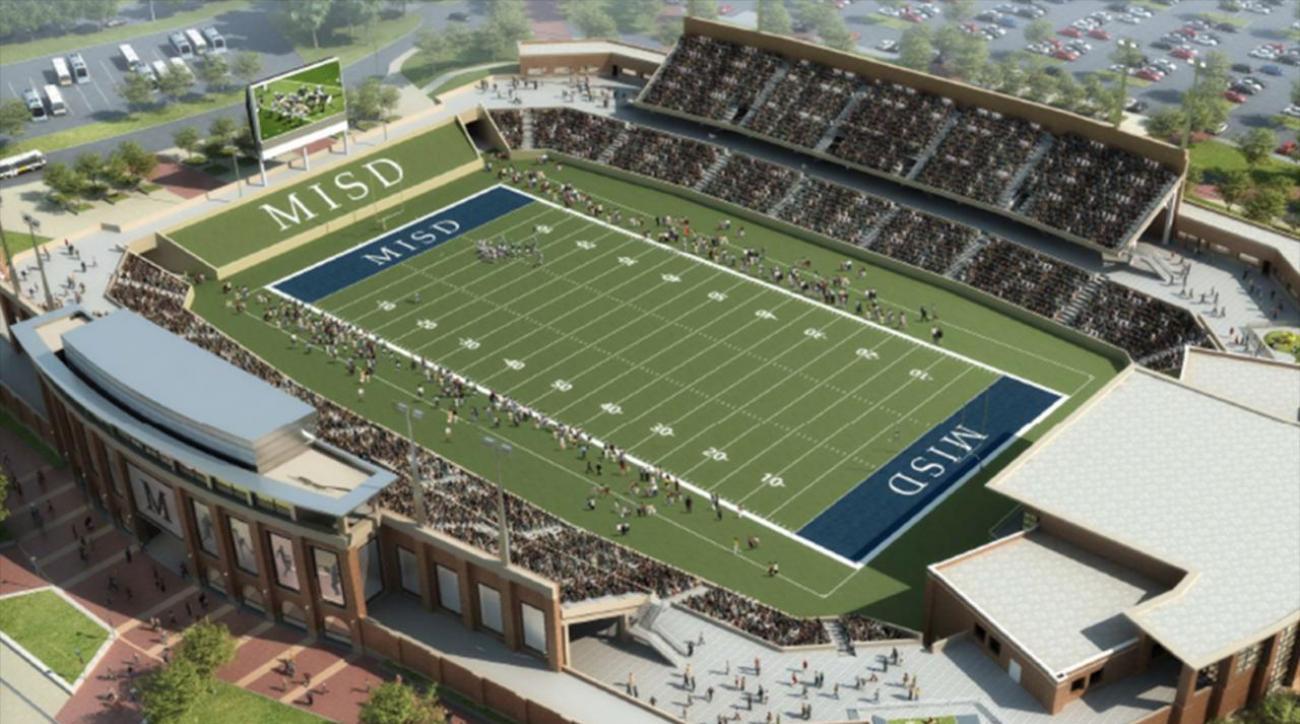 Texas high school to build $62.8 million football stadium IMAGE