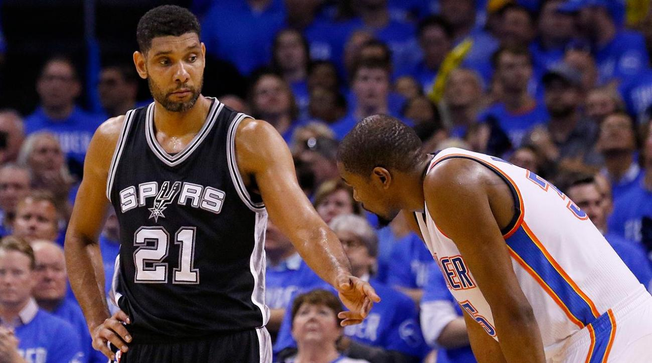 Tim Duncan noncommittal about future after Game 6 loss to Thunder