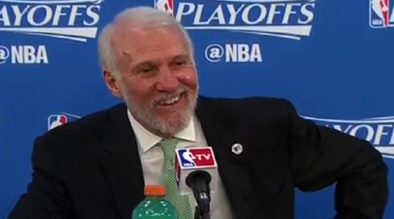 Mustard Minute: Gregg Popovich is SO over reporters IMG