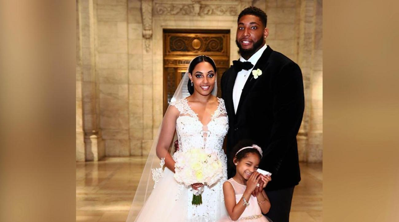 Leah Still breaks it down at Devon Still's wedding