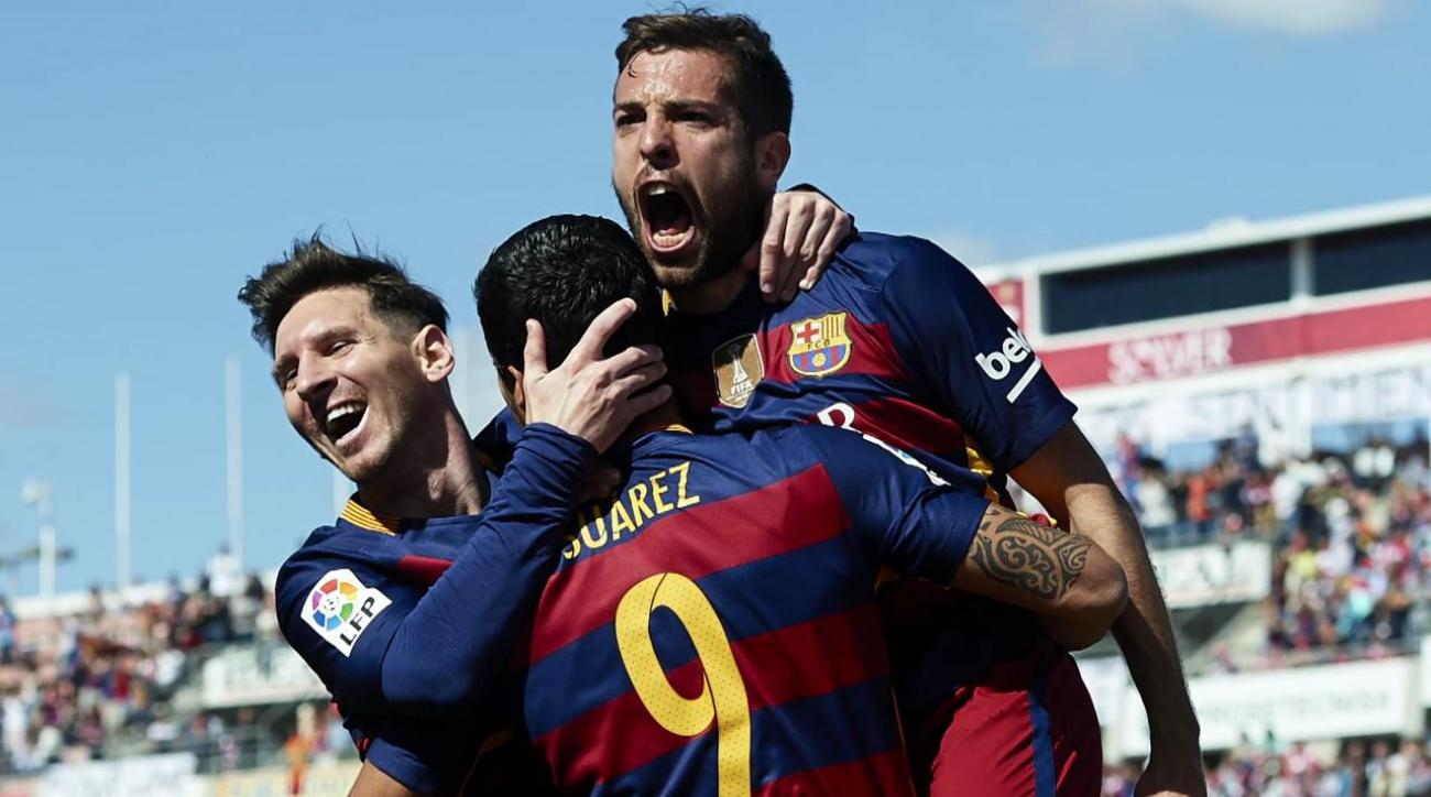 Barcelona wins second straight La Liga title